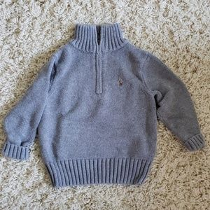 Ralph Lauren Gray Knitted Sweater